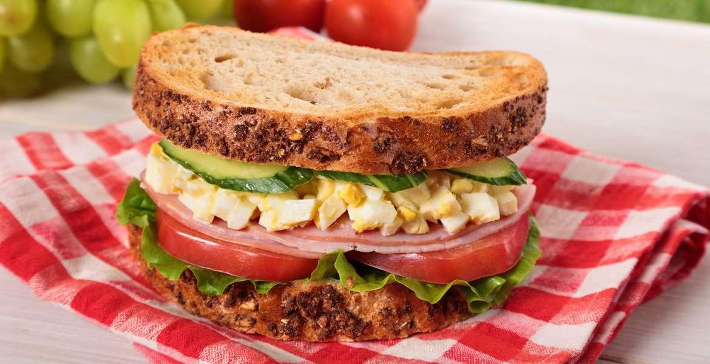 Sándwich al Huevo